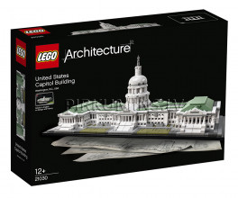 21030 LEGO® Architecture United States Capitol Building, no 12 gadiem NEW 2018!