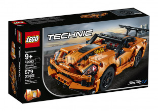 42093 LEGO® Technic Chevrolet Corvette ZR1, no 9+ gadiem NEW 2019!