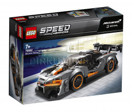 75892 LEGO® Speed Champions McLaren Senna, no 7+ gadiem NEW 2019!