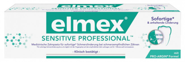 Elmex Sensitive Professional zobu pasta 75ml