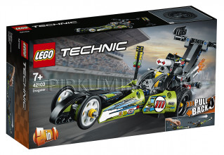 42103 LEGO® Technic Dragsters, no 7+ gadiem NEW 2020!