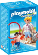 6677 PLAYMOBIL® Summer Fun Baseina uzraugs, no 4+