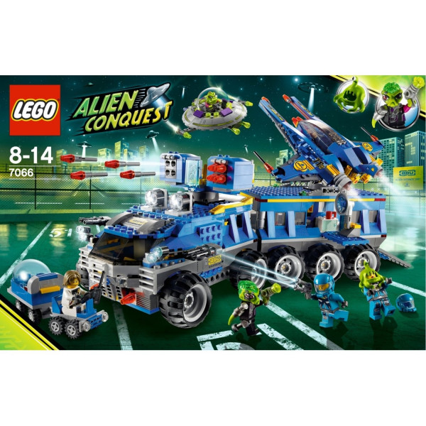 7066 LEGO® LEGO Space Earth Defence 2011 year