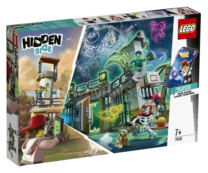 70435 LEGO® Hidden Side Newbury pamestais cietums, no 7+ gadiem NEW 2020!