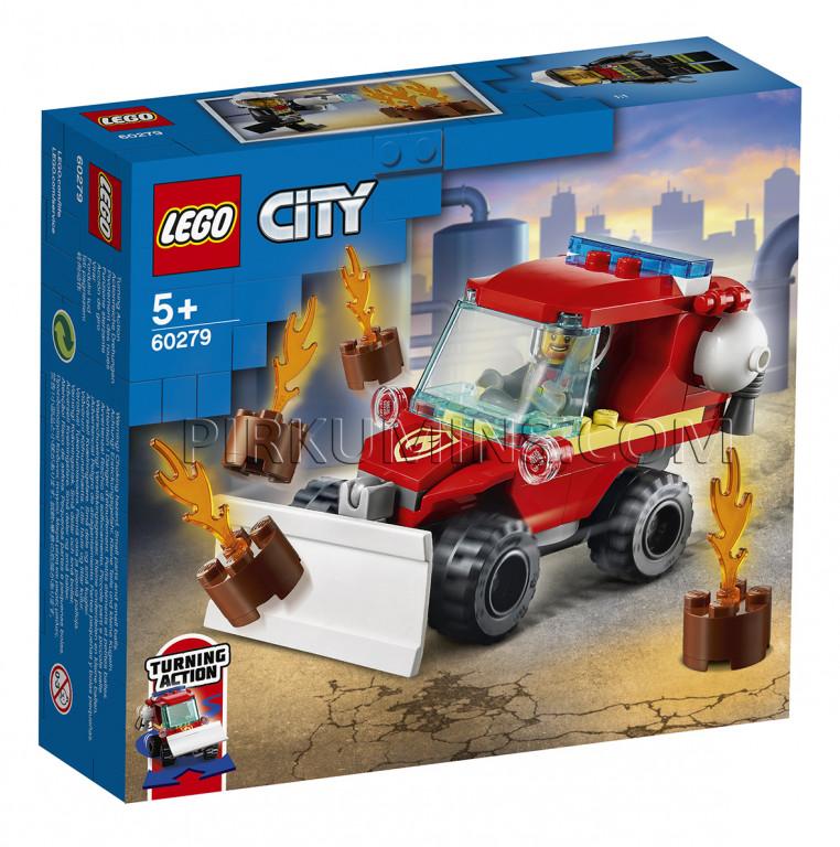 60279 LEGO® City Ugunsdzēsēju auto, no 5+ gadiem NEW 2021 ...