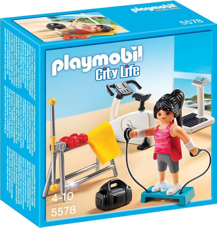 5578 playmobil® city life vingrošanas istaba no 4 5578